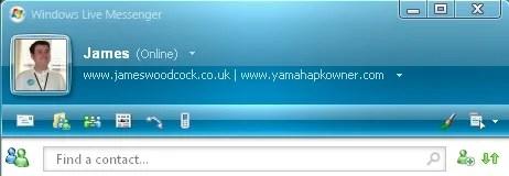 Windows Live Messenger Version 8.5
