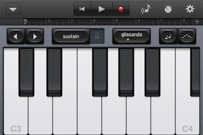 GarageBand on iPhone