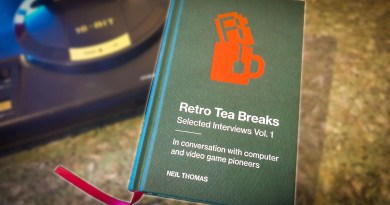Retro Tea Breaks 1 – A Book to Preserve Video Game History