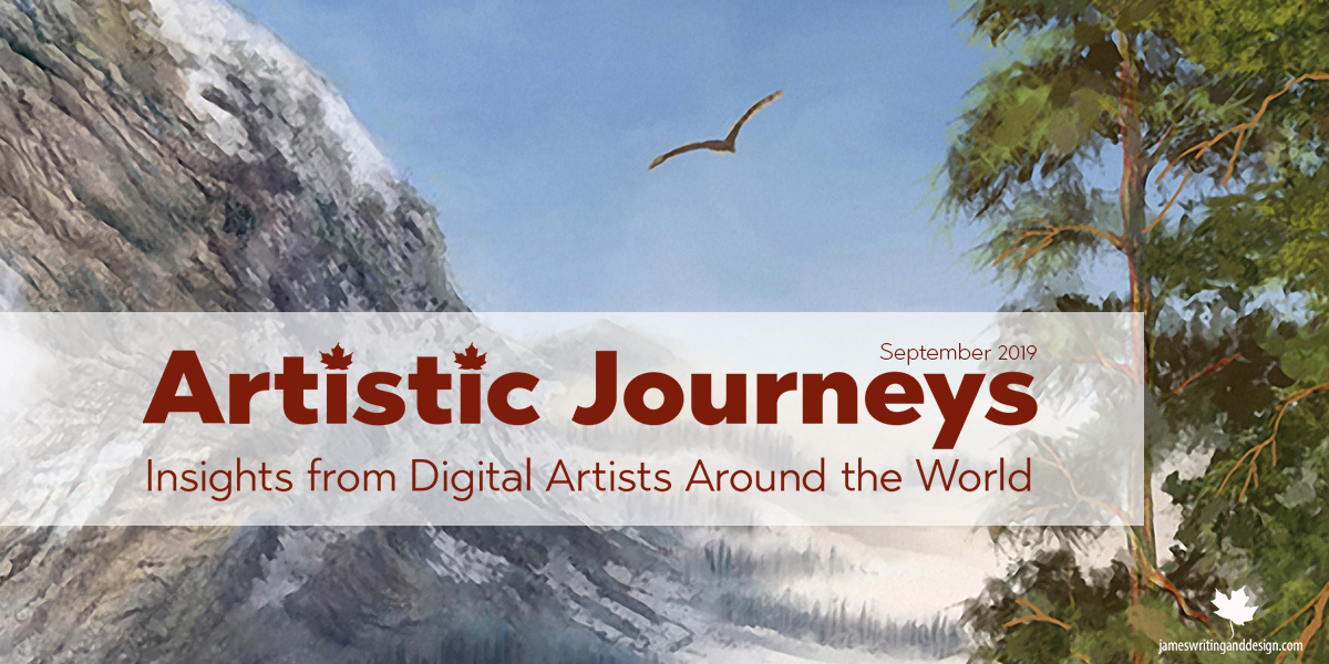 Artistic Journeys – September 2019 – Cary Cox