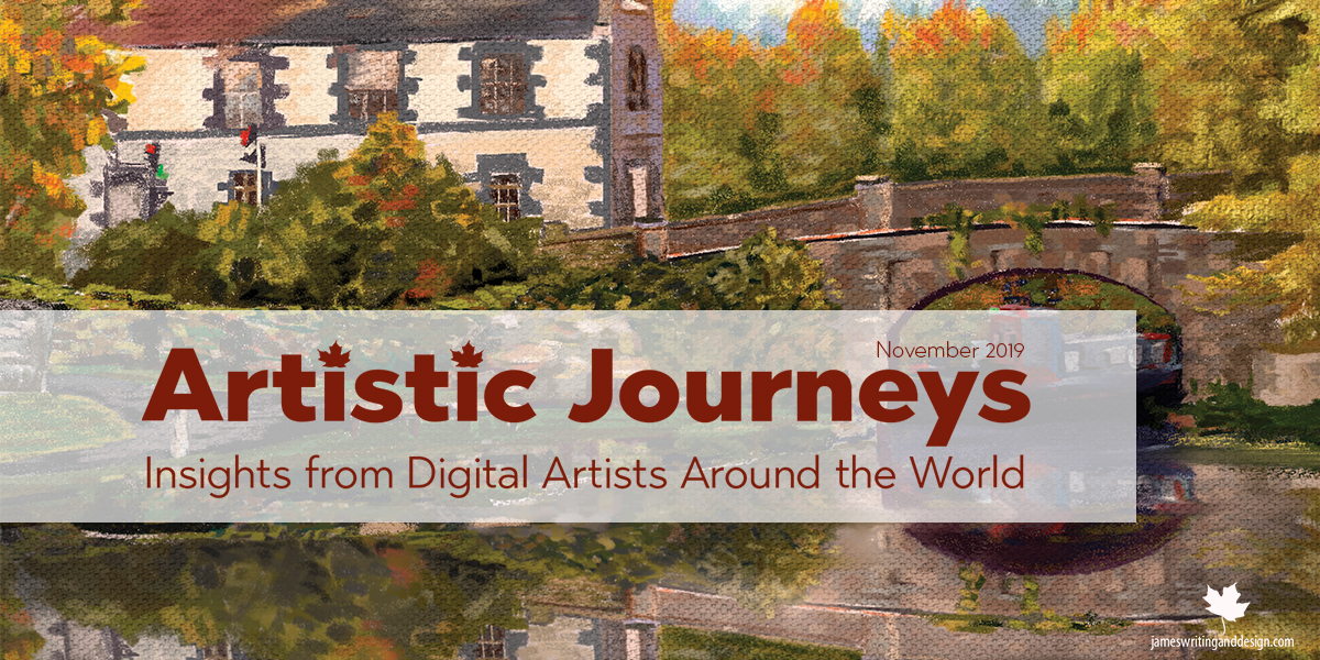 Artistic Journeys – November – Terry Sayers