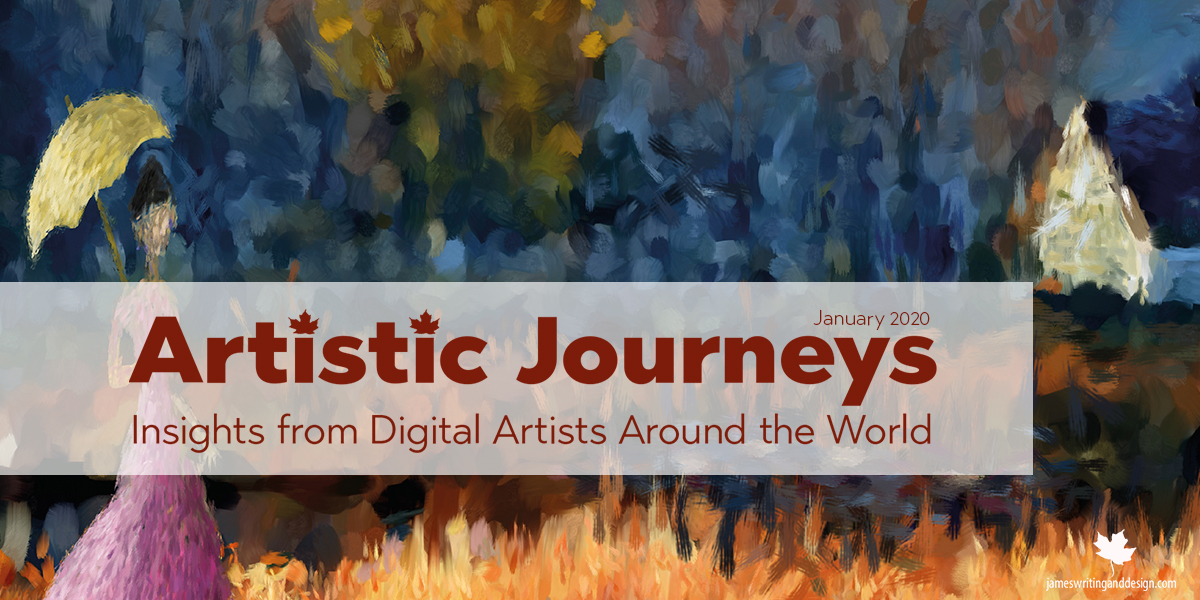 Artistic Journeys is an online publication that explores the lives of creative individuals as they share their experiences. Janurary features Per Ole Spilde.