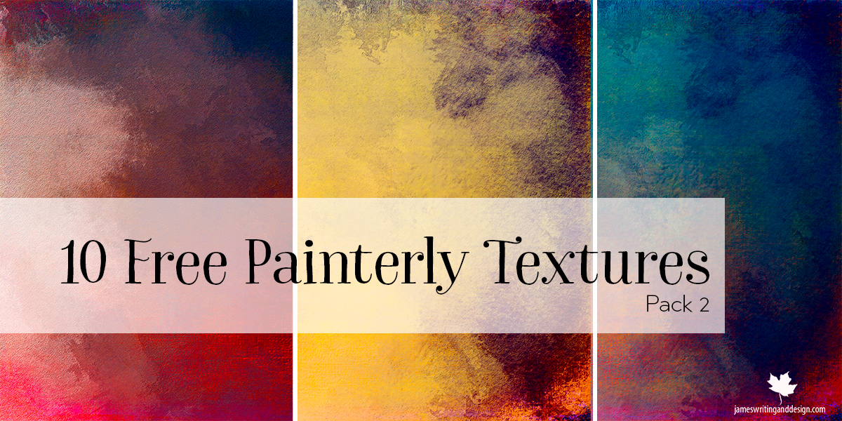 10 Free Painterly Textures Pack 2