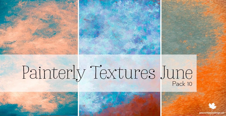Free Digital Painterly Textures for Homeschoolers interested in Digital Art, Corel Painter Artists, Digital Artists.