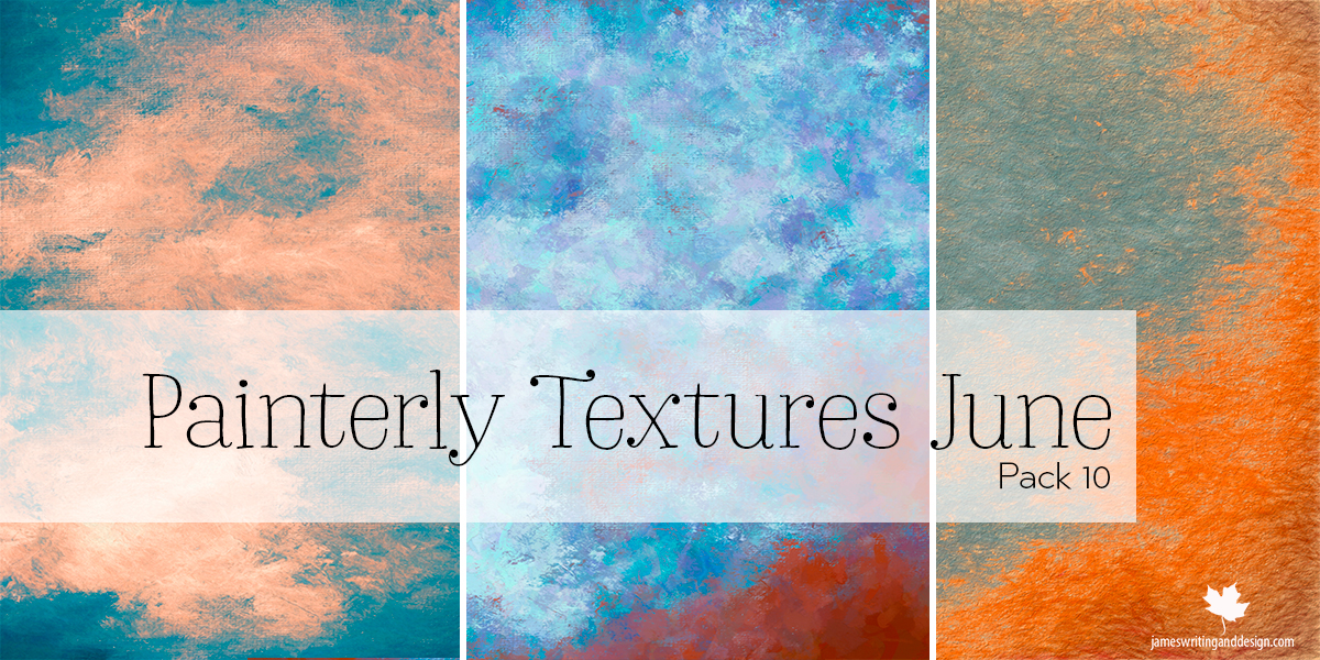 Free Painterly Textures Pack 10 June