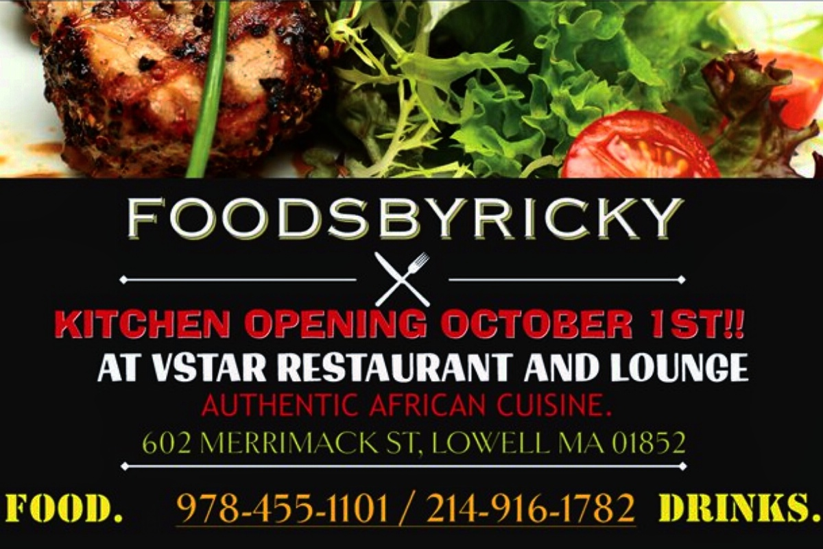 Finally Lowell gets Authentic African Cuisine by the renown chef Ricky Ahamed (FoodsbyRicky)