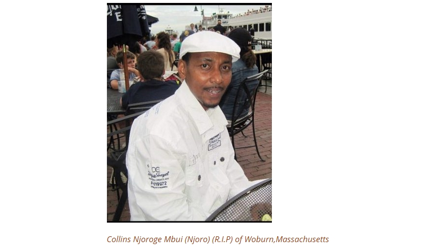 Death and Memorial Service Announcement - Collins Njoroge Mbui (Njoro) of Woburn,Massachusetts