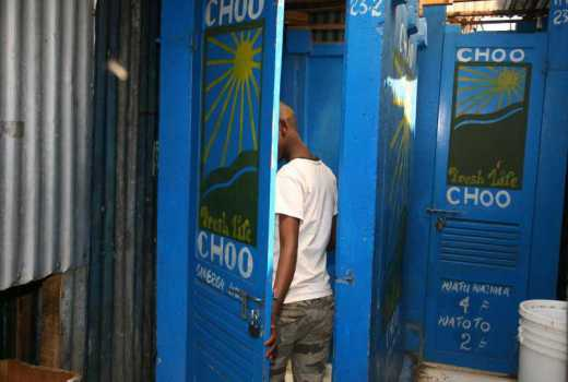 Public toilets in the city a lucrative business as they rake in Sh10, 000 daily