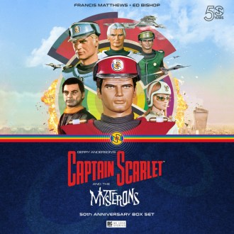 Captain Scarlet 50th Anniversary Box Set