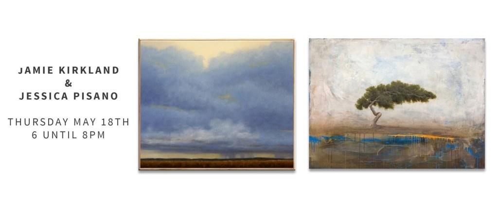 Jamie Kirkland New Work at Exhibit by Aberson, Tulsa OK