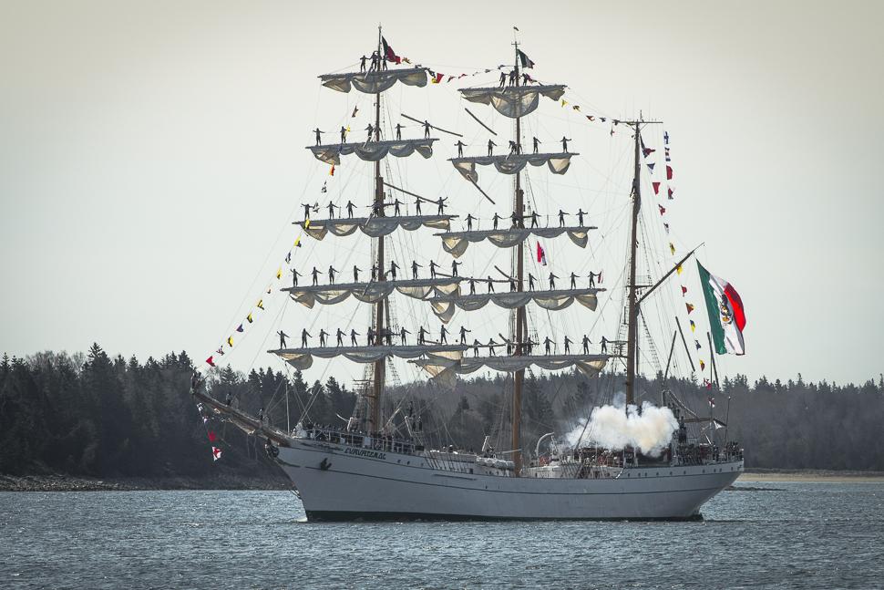 Mexican Tall Ship 2-8554