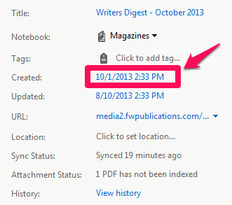 Create Date
