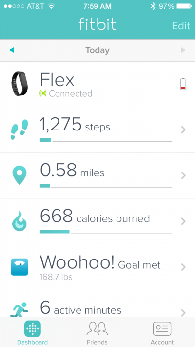 FitBit Battery 1