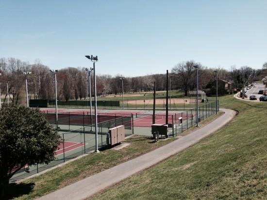 Baseball in the park