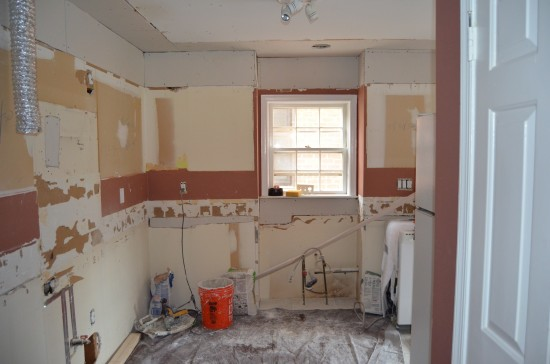 Kitchen Remodel North 1, Day 9