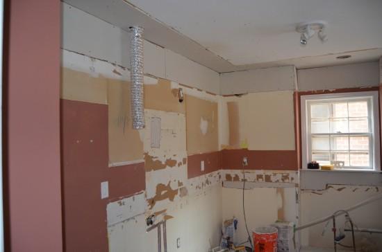 Kitchen Remodel North 2, Day 9
