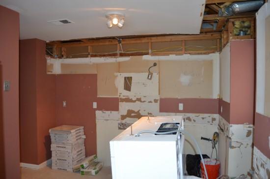 Kitchen Remodel West, Day 3