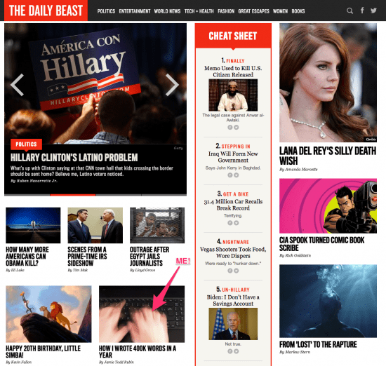 Daily Beast Home