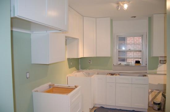 Kitchen Remodel Day 17, North