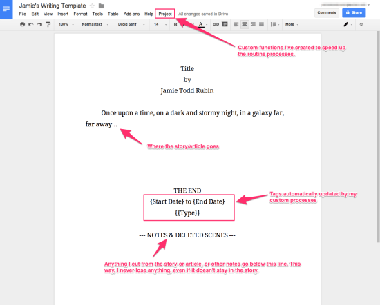 google docs script template how i use google docs for writing jamie todd rubin