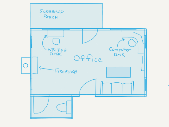Ideal office floorplan