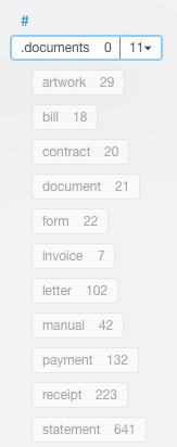 EN document tags