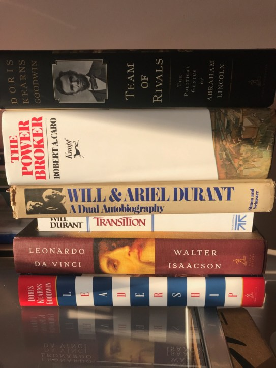 Current book stack