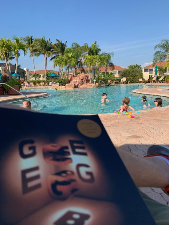 Sitting poolside with Gödel, Escher, Bach