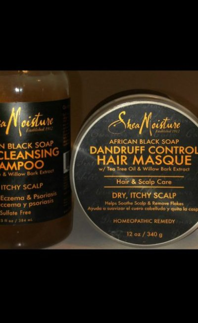 Shea Moisture : African Black Soap (Review)