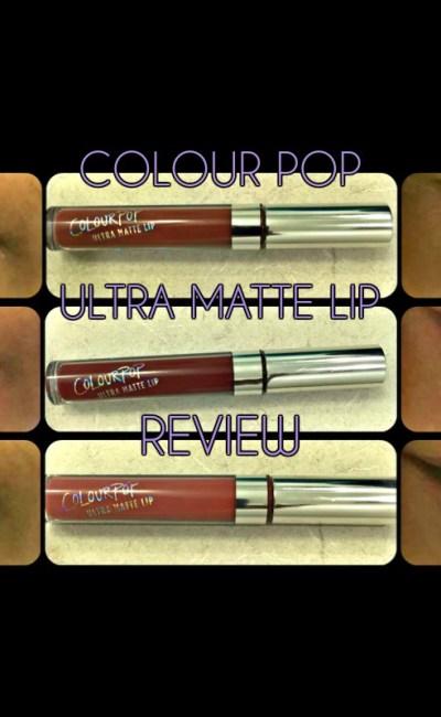 ColourPop Ultra Matte Lip Review