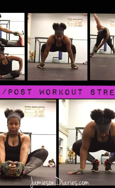 5 Pre/Post Workout Stretches
