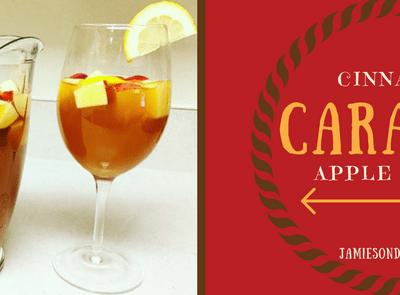 Cinnamon Caramel Apple Cider