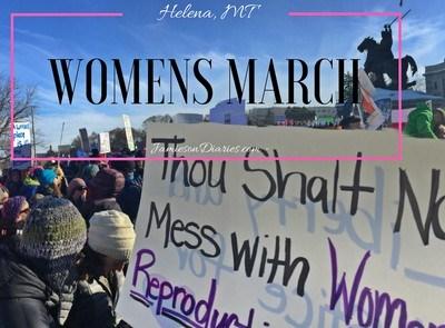 Women's March- Helena, MT