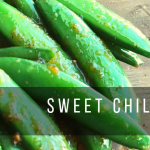 sweet chili peas