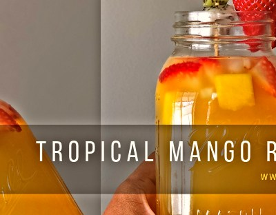 Tropical Mango Refresher