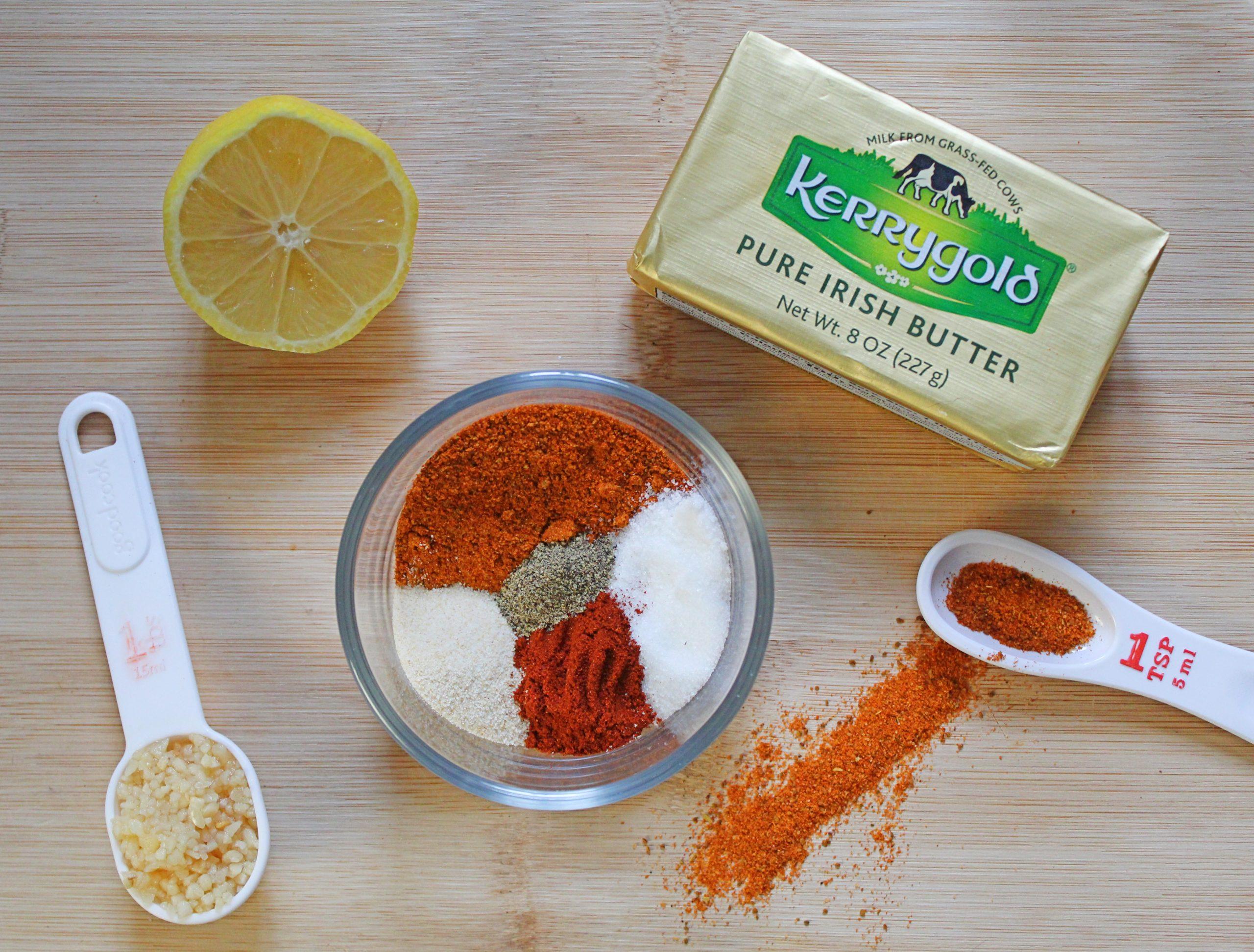 crab boil & garlic butter sauce