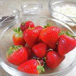 kids ghost strawberries