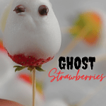 kids ghost strawberries