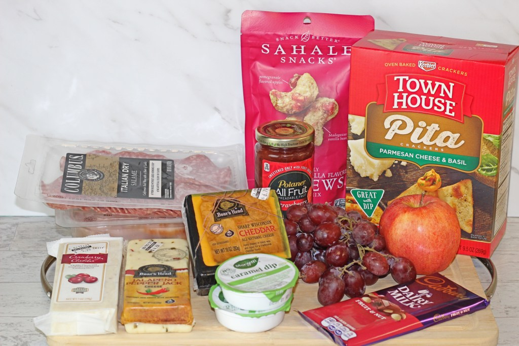 DIY Charcuterie Snack Board