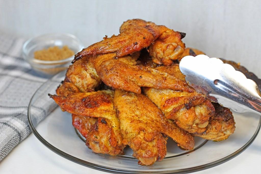 brown sugar baked chicken wings