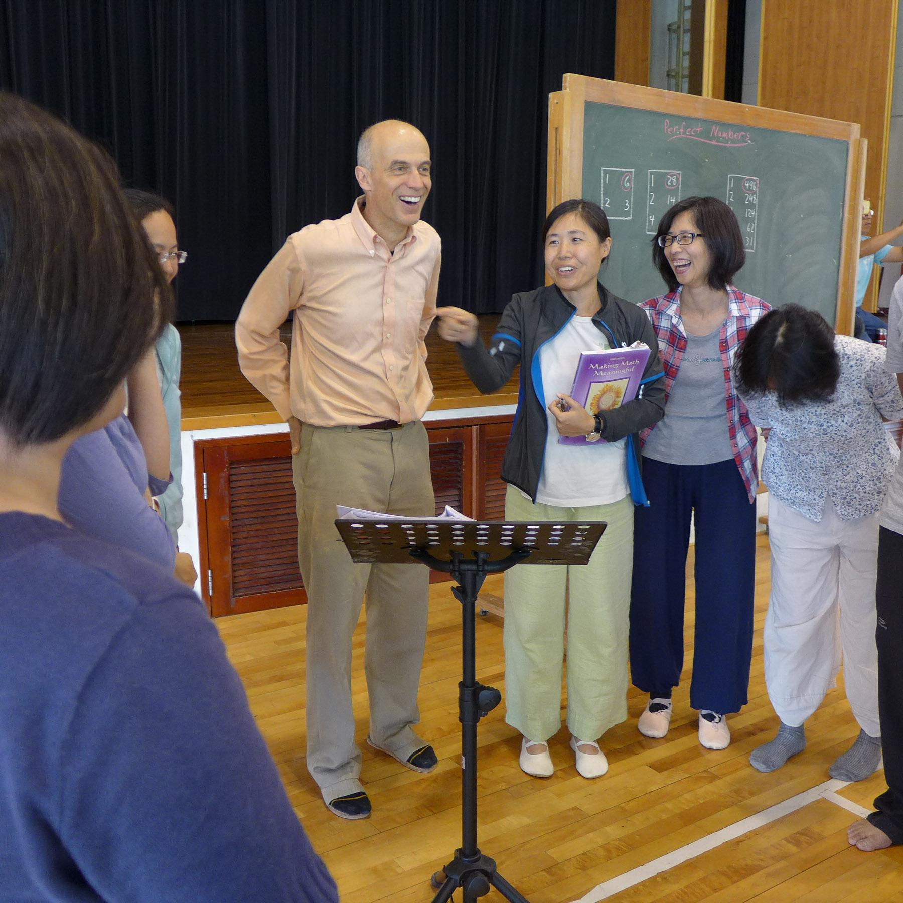 Jamie York Taiwan Waldorf Math Trip