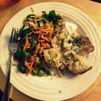 JamJarGill: Meatless Monday {1 year 7 weeks}: Dinner