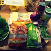 JamJarGill: Meatless Monday {1 year 9 weeks}: Dinner
