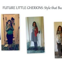 FUTURE LITTLE GHERKINS: Style that Bump (part 3)