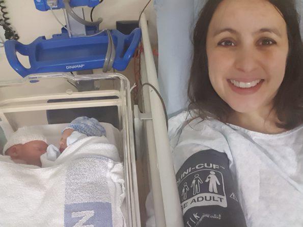 1st Mummy Selfie