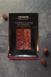 Sliced Iberico Acorn-Fed | Lomo de Bellota en lonchas | Cured Meat | Fermin Ibericos | Spanish Food