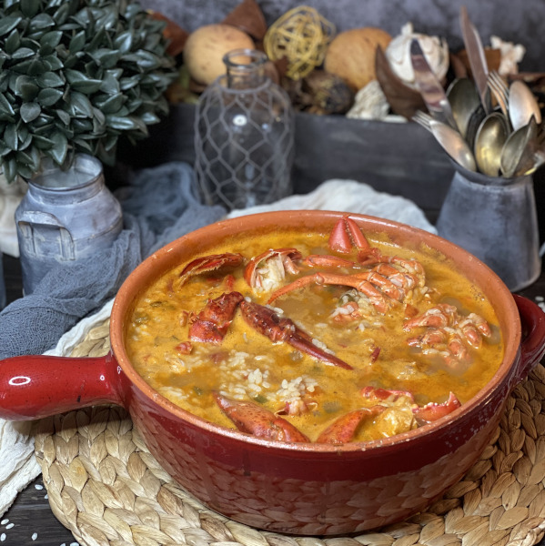 Lobster Rice Soup | Jamones Sin Fronteras
