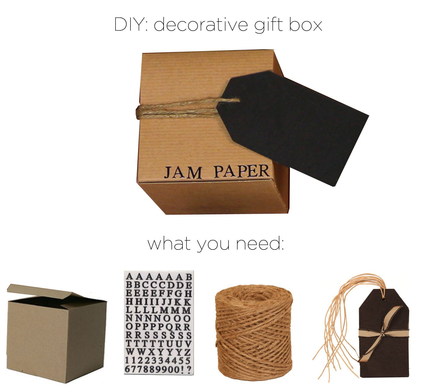 DIY Decorative Gift Box