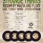Art cover - Strange Things Riddim
