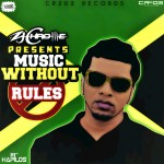 Vybz Kartel - Pound of Rice/Stop Follow Me Up from Music Without Rules - CR203 Records (ZJ Chrome)